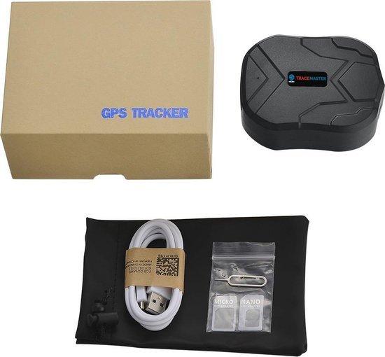 gps tracker auto volgsysteem magneet inbouw zonder abonnement simkaart