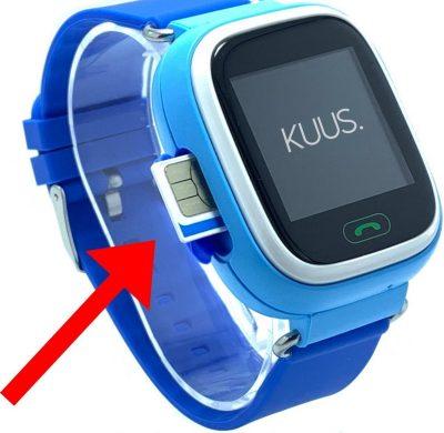 kuus gps horloge kind tracker smartwatch